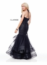 Clarisse Couture Dress 5016 Ruffled Mermaid Gown | 2 Colors | Prom 2019