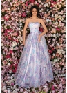Clarisse Couture 5122 Lilac Chrysanthemum Gown | Couture 2020|