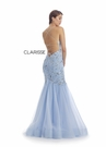 Clarisse Couture 5129 Powder Blue Lace Gown |Couture 2020|