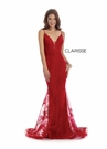 Clarisse Couture 5133 Sexy Red Evening Gown |Couture 2020|