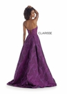Clarisse Couture 5142 Thorn Mikado Mulberry Gown |Couture 2020|