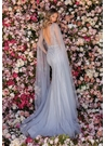 Clarisse Couture 5157 Dove Gray Crystal Gown |Couture 2020|