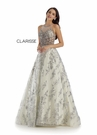 Clarisse Couture 5164 Embellished Ivory Ball Gown |Couture 2020|