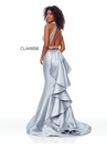 Clarisse Couture Dress 5055 Silver Two Piece Mermaid  | Prom 2019