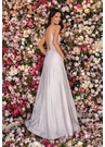 Clarisse Dress 8008 Shimmer Novelty A-Line Gown | Prom 2020| 3 Colors
