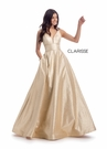 Clarisse Dress 8011 Glitter Mikado Ball Gown | Prom 2020| 2 Colors
