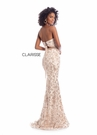 Clarisse Dress 8017 Venice Lace Strapless Gown| Prom 2020| 2 Colors