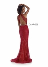 Clarisse Dress 8018 Shimmer Halter Gown |Prom 2020| 2 Colors