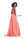 Clarisse Dress 8024 Lace-Up Chiffon | Prom 2020| 2 Colors