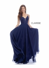 Clarisse Dress 8026 Lace-Up Chiffon |Prom 2020| 3 Colors