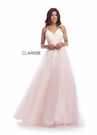 Clarisse Dress 8034 Pastel Novelty Tulle Gown | Prom 2020| 5 Colors