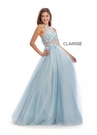 Clarisse Dress 8036 Pansy Halter Gown |Prom 2020| 2 Colors