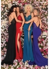 Clarisse Dress 8064 Baroque Halter Jersey Gown | Prom 2020| 4 Colors