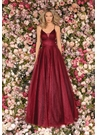 Clarisse Dress 8079 Shimmer Wine Ball Gown | Prom 2020 |
