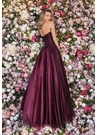 Clarisse Dress 8083 Strapless Bordeaux Beauty | Prom 2020|