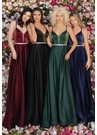 Clarisse Dress 8087 Charmeuse & Jewel Gown | Prom 2020| 4 Colors
