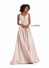 Clarisse Dress 8088 Straps & Shimmer A-Line Gown | Prom 2020| 2 Colors