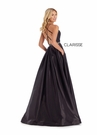 Clarisse Dress 8088 Straps & Shimmer A-Line Gown   Prom 2020  2 Colors