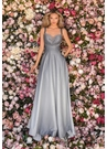 Clarisse Dress 8093 Gunmetal Ombre Gown With Pockets |Prom 2020|