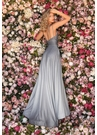 Clarisse Dress 8093 Gunmetal Ombre Gown With Pockets  Prom 2020 