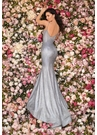 Clarisse Dress 8096 Metallic Cotton Candy Gown | Prom 2020|