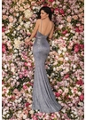 Clarisse Dress 8097 Gunmetal & Royal Shimmer Gown | Prom 2020|