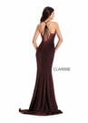 Clarisse Dress 8109 Jersey Halter with Slit Gown | Prom 2020|