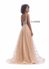 Clarisse Dress 8125 Rose Gold A-Line Gown | Prom 2020|