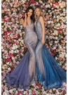 Clarisse Dress 8128 Fishtail Halter Gown | Prom 2020| 2 Colors