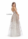 Clarisse Dress 8135 Brocade Animal Print Gown | Prom 2020|