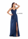 Clarisse Dress 8143 V-Neck Satin | Prom 2020| 3 Colors