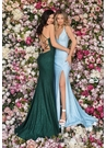 Clarisse Dress 8149 Lace-Up Gown| Prom 2020| 3 Colors