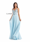 Clarisse Dress 8154 Light Blue Chiffon Gown | Prom 2020|
