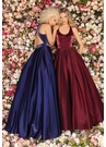 Clarisse Dress 8193 Razorback Ball Gown | Prom 2020| 4 Colors