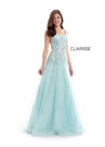 Clarisse Dress 8202 Frost Blue Ball Gown | Prom 2020|