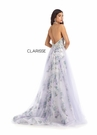 Clarisse Dress 8205 Ivory & Lilac Halter Gown | Prom 2020|