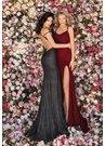 Clarisse Dress 8215 Cold Shoulder Gown With Slit |Prom 2020| 2 Colors