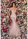 Clarisse Dress 8219 Rose Gold Trumpet Gown | Prom 2020|