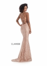 Clarisse Dress 8222 Elaborate Rose Gold Gown | Prom 2020|