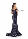 Clarisse Dress 8238 Bardot Sequin Gown | Prom 2020| 2 Colors