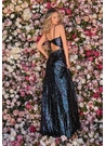 Clarisse Dress 8244 Iridescent Black A-Line Gown |Prom 2020|