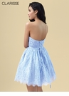 Clarisse Homecoming 2019 Lace Powder Blue Cocktail Dress 3907