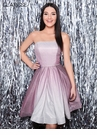 Clarisse Homecoming 2019 Strapless Ombre Dress 3966   2 Colors