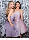 Clarisse Homecoming 2019 Strapless Ombre Dress 3966 | 2 Colors