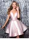 Clarisse Jewel & Flare Homecoming Dress s7019| 4 Colors