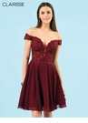Clarisse Lace & Chiffon Homecoming Dresss s3774 | 3 Colors