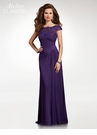 Clarisse M6531 Purple Lace Bodice Evening Gown |Atelier 2018