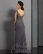 Clarisse Pewter Mother of the Bride Dress 6314