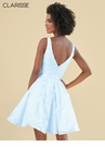 Clarisse Powder Blue Lace Homeoming Dress 3914