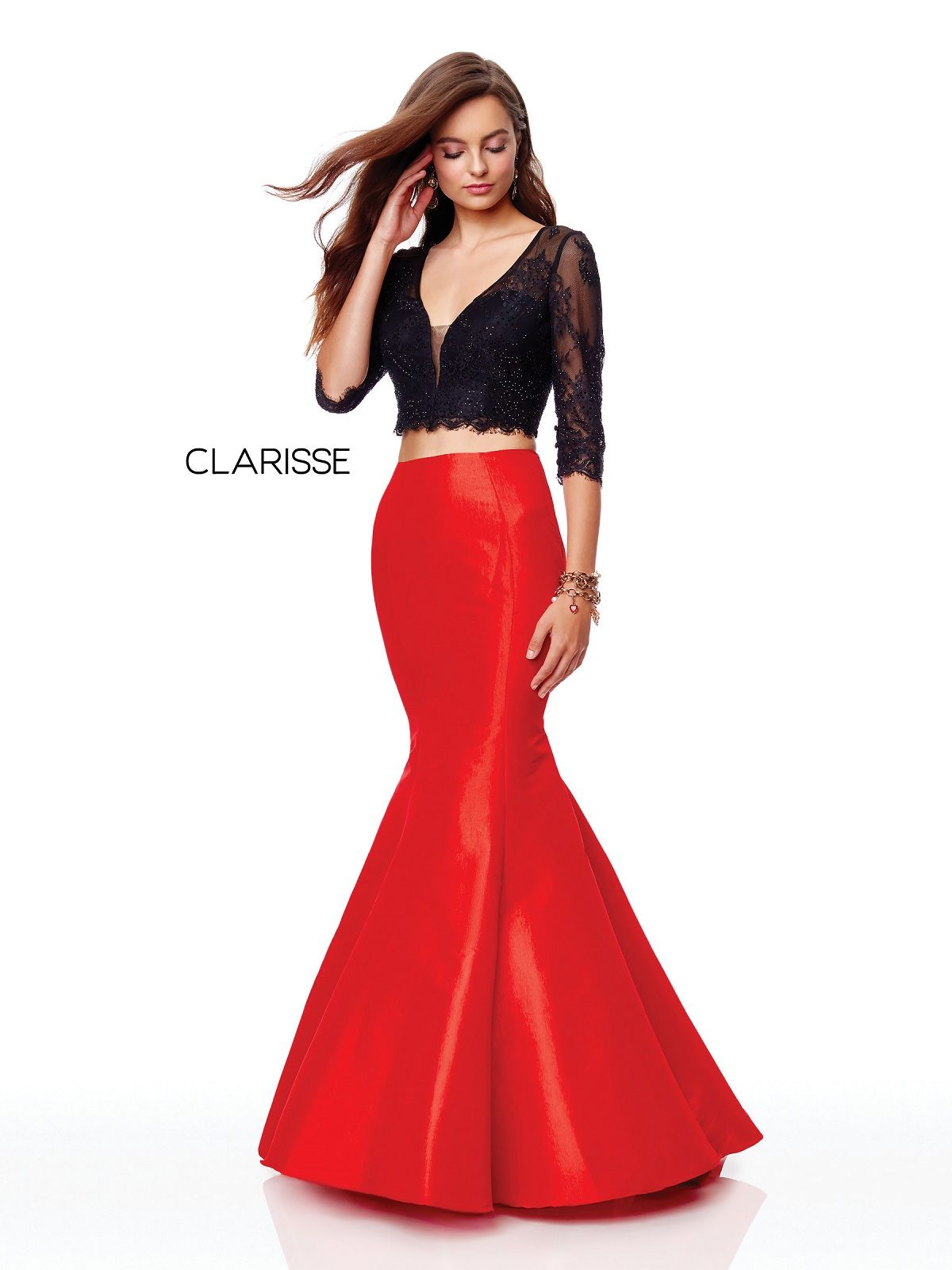 Clarisse Dress 3722 Two Piece Mermaid Prom Dress Prom 2019